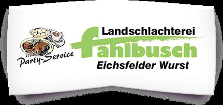 Landschlachterei Fahlbusch e.K. - Logo